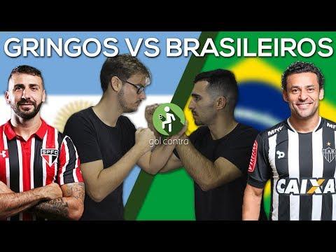 SELEÇÃO GRINGOS VS  BRASILEIROS (BRASILEIRÃO)