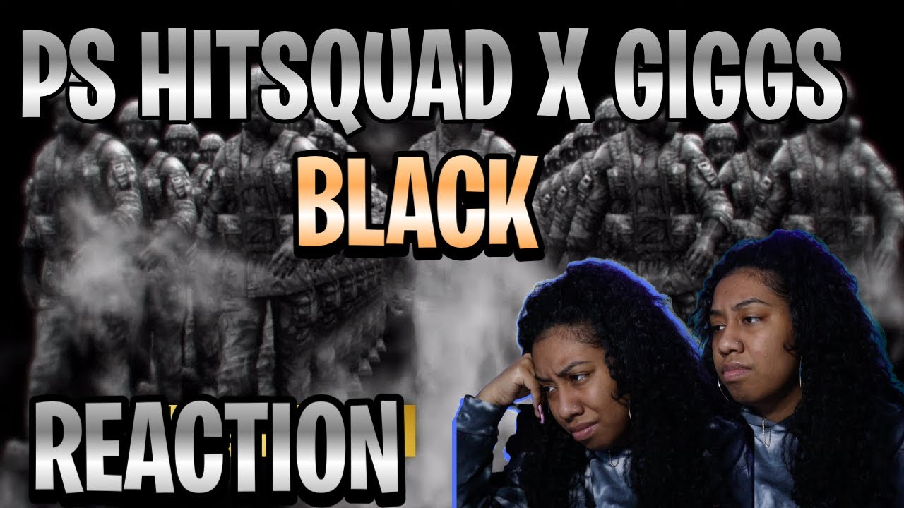 Download P.S Hitsquad x Giggs - Black [Music Video]   GRM Daily [Nyc Girl Reaction]   #LinaaaReacts