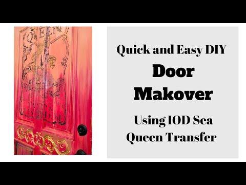 quick-and-easy-diy-door-makeover--pink-ombre'-door