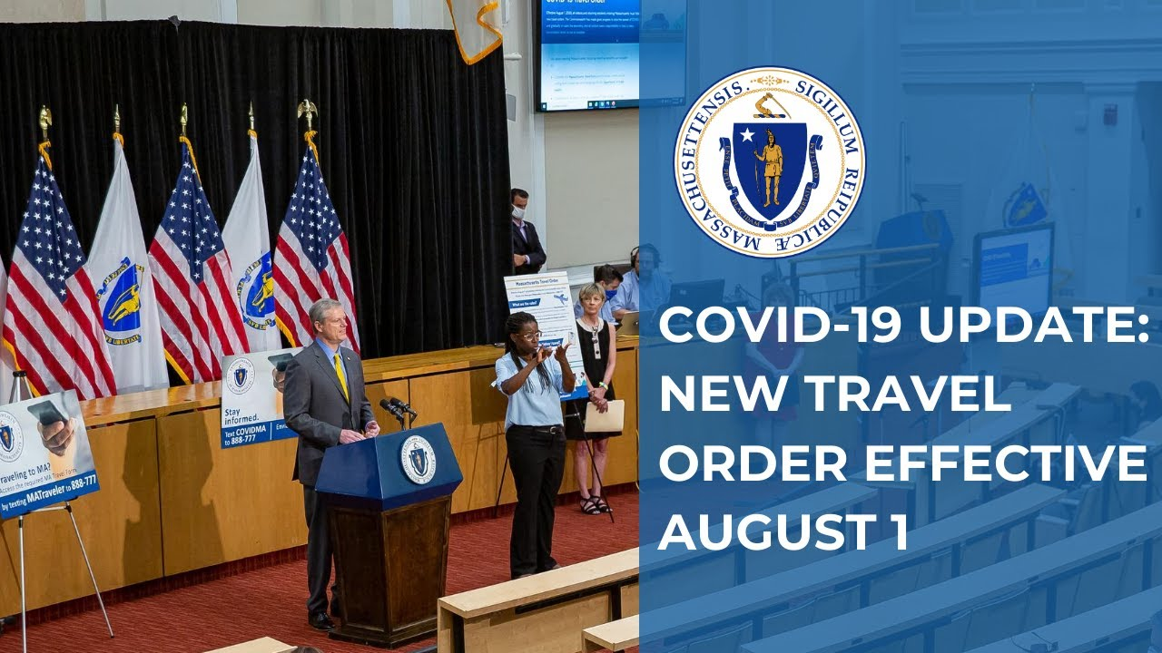 COVID-19 Update: New Travel Order Effective August 1st