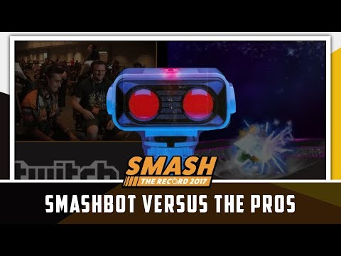 STR 2017 SSBM - Smashbot VS The Pros