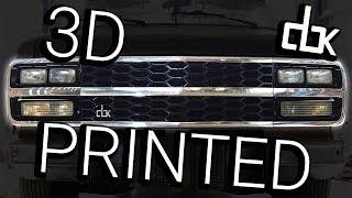 DBK - 3D printed radiator grill