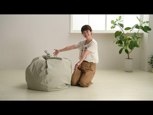 【ハナロロ】スタイリスオニオン170リットル カバー取り付け方法