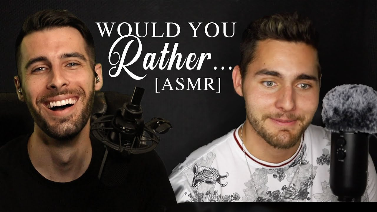[ASMR] Would You Rather? Collab With Tyson ASMR Male Whispers