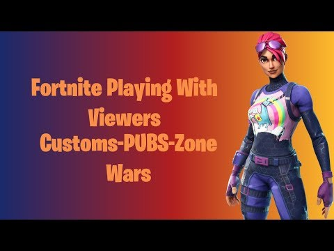 🔴 Fortnite Live Stream Hosting Zone Wars With Viewers! NAE PS4, XBOX, PC, IOS, Switch