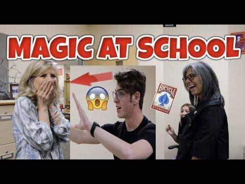MY High School STAFF REACTS to MAGIC | NicoMagic