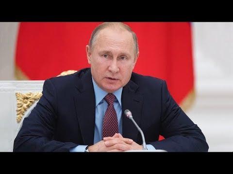 Владимир Путин выступает