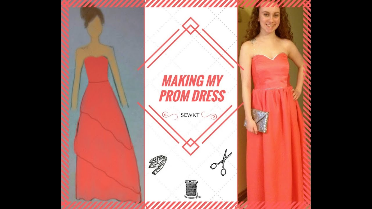 Making My Own Prom Dress - YouTube