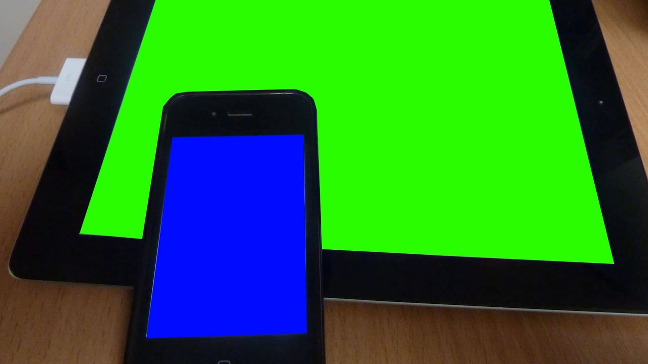 how to use green screen on iphone