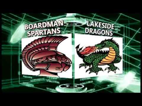High School Football:  Boardman vs. Lakeside 10 27 2017