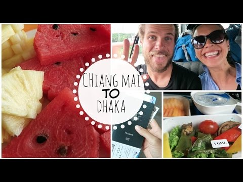 What I Ate Traveling (Vegan) | Chiang Mai to Dhaka