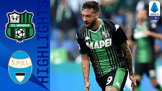 Sassuolo 3-0 SPAL | Caputo Brace Seals Sassuolo Victory! | Serie A