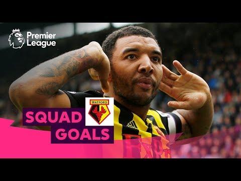 Wonderful Watford Goals | Deeney, Pereyra, Bouazza | Squad Goals