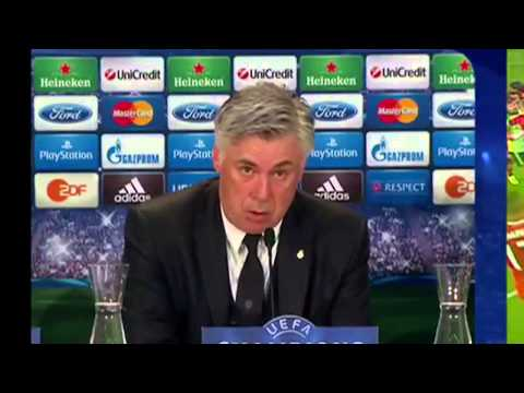Carlo ANCELOTTI - BAYERN 0-4 REAL MADRID