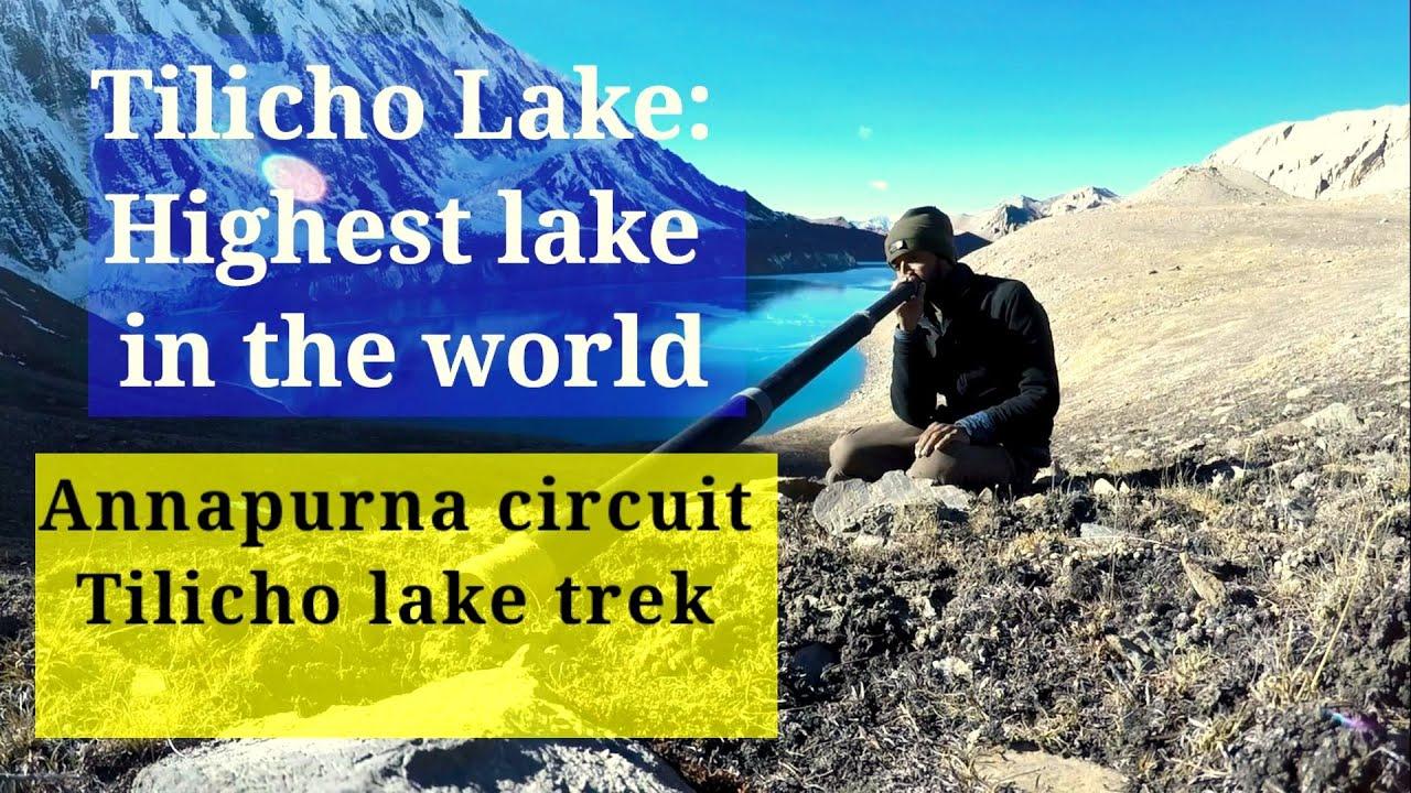 Download Tilicho Lake Nepal Trek | Annapurna circuit Tilicho lake trek | Manang to Tilicho lake