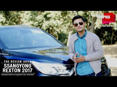 SsangYong's newest SUV in Nepal: The Rexton 2017