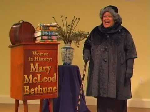 Mary McLeod Bethune as Portrayed by Madelyn Sanders