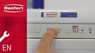 Renfert Maintenance | Setting the switch-on threshold SILENT TS