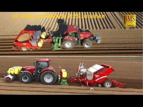 Kartoffeln pflanzen / legen - Zwei ALL in ONE Kartoffelpflanzmaschinen-Systeme - DJI Phantom