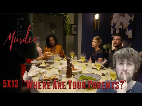 How To Get Away With Murder Season 5 Episode 13 - 'Where Are Your Parents?' Reaction