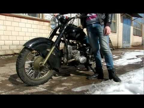 Дизельный мотоцикл днепр 136