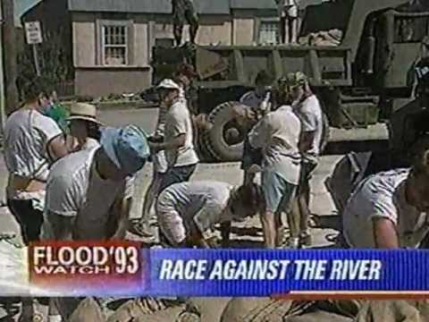 Flood of 1993 News Coverage
