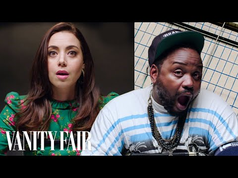 Aubrey Plaza and Brian Tyree Henry Take a Lie Detector Test | Vanity Fair