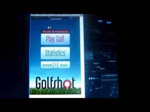 GolfShot GPS App