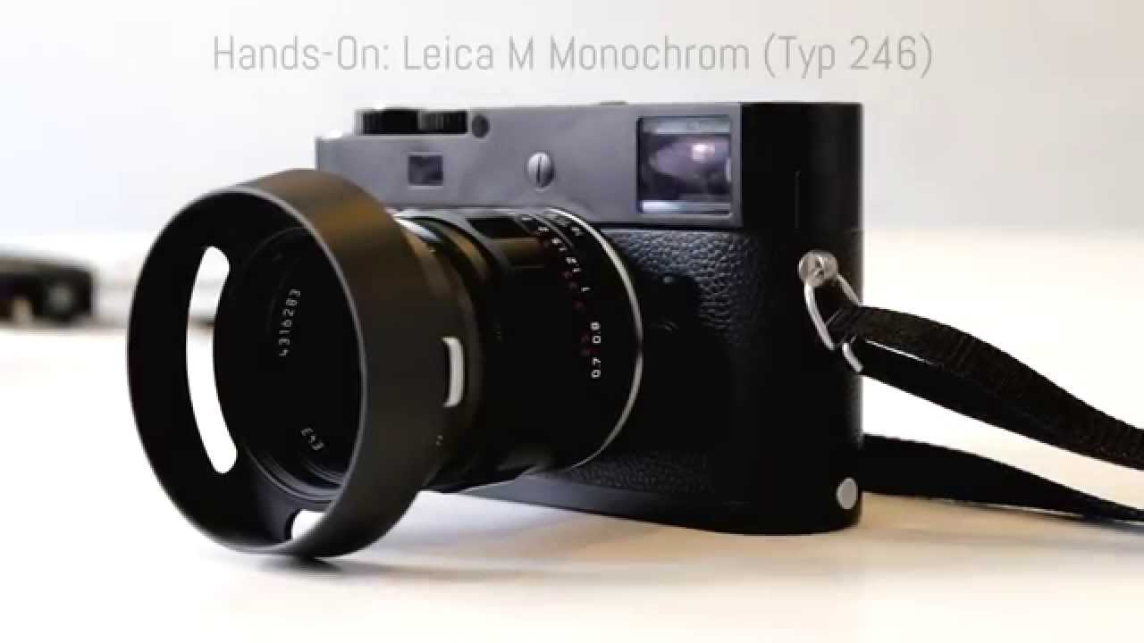 Leica M Monochrom (Typ 246) Camera Drivers Download (2019)
