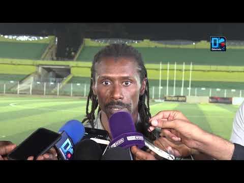 """Aliou Cissé : """"Sadio Mané est forfait et ne sera pas utilisé demain contre le Soudan"""""""