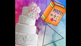 TURNING MATHS PUZZLE INTO WEDDING CAKE 🎂 FUNNY DIY