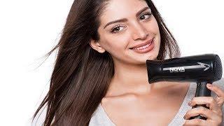Nova Silky Shine 1200 W Hot And Cold Foldable NHP 8100 Hair Dryer (Black) review|Zora ShoePolish Kit