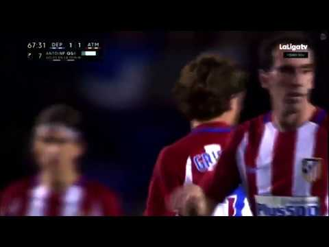 Griezmann amazing long shot goal!