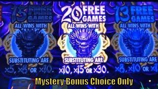 ★Mystery Bonus Choice Only ! No.3★Dancing Drum/5 Frogs/5 Dragons Gold etc (6 Slot Bonuses)☆彡栗スロ