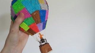 Making a MASSIVE 3D air balloon with the 3D PEN and hot glue gun /DIY/3D PEN CREATION - 3d pen art