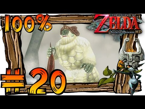 Zelda Twilight Princess HD Wii U 100% Walkthrough Part 20 | Reekfish Scent & Snowpeak