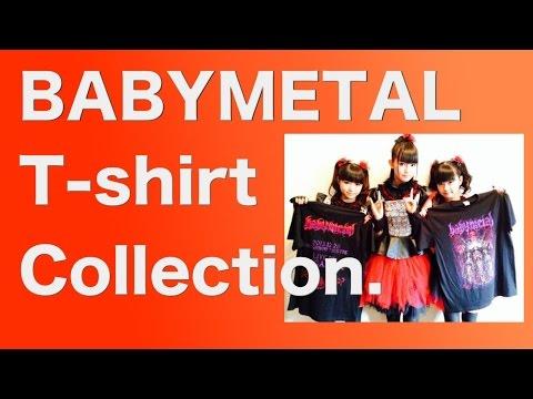 BABYMETAL T-shirt Collection.