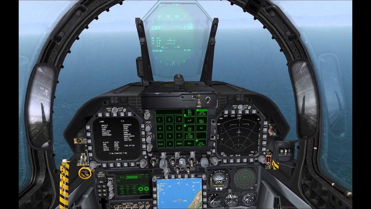 VRS SuperBug Carrier Landing Tutorial - P3D/FSX/FS9