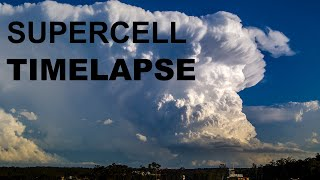 INCREDIBLE Supercell Timelapse - Gold Coast, Australia, November 15, 2013