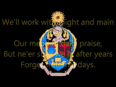 Alpha Kappa Psi Anthem Lyric Video [ΧΛ]