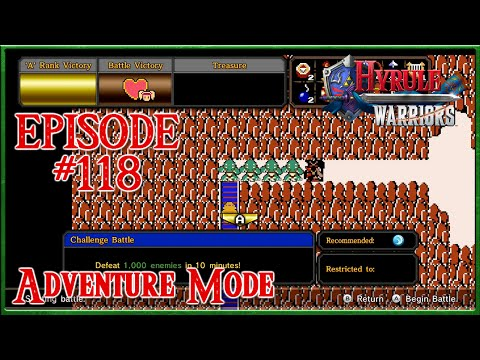 Hyrule Warriors - Agitha's Difficult Quest Duo - Adventure Mode - Episode 118