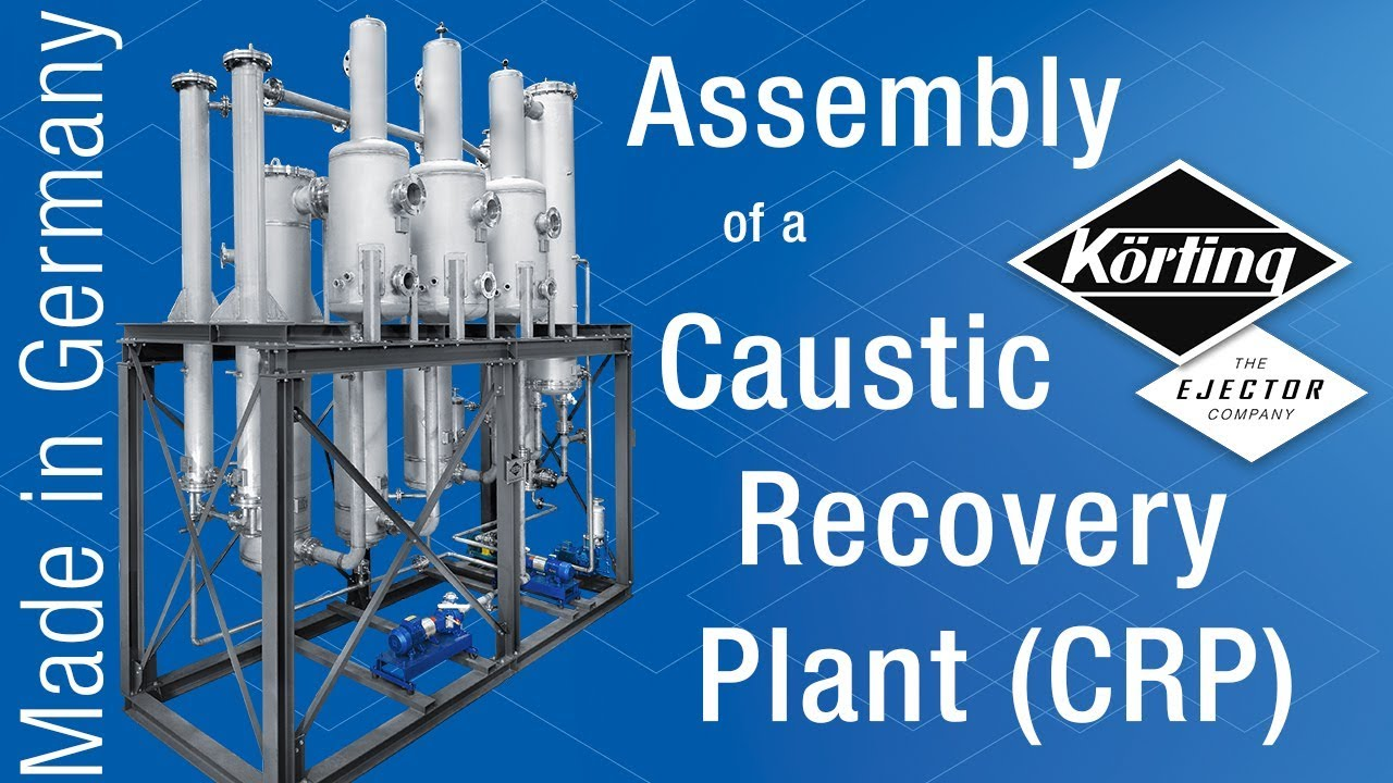Caustic Recovery Plants, lye recovery, mercerisation