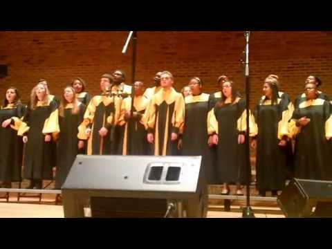Appalachian State University Gospel Choir ~ 2014 Fall Concert ( pt. I ) ... Nov. 23, 2014
