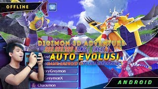 Digimon Android 3D Adventure Sudah Bahasa Inggris | Game Android Indonesia | PPSSPP