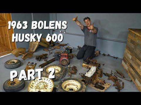 1963 Bolens Husky 600 Lawn Tractor RESTORATION | Part 2 of 6