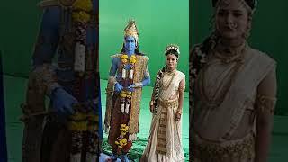 #short #shorts Paramkrishna, Radha and Lalita Sakhi / Vighnharta Ganesh / VINAYAK VISION FILMS