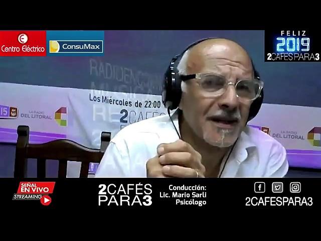 2 Cafés Para 3 - Espacio de Salud mental - 3 de enero 2019