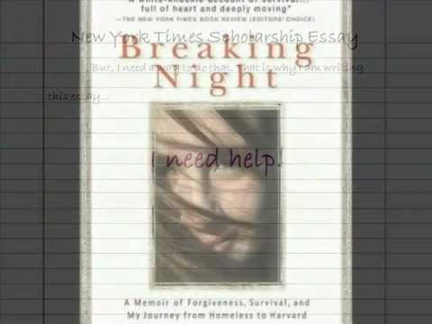 Breaking Night by Liz Murray Book Trailer