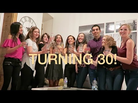MY 30TH BIRTHDAY CELEBRATIONS  -  Madrid with my besties + home ballet studio | natalie danza