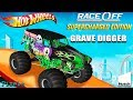 Hot Wheels Race Off - Grave Digger Monster Truck